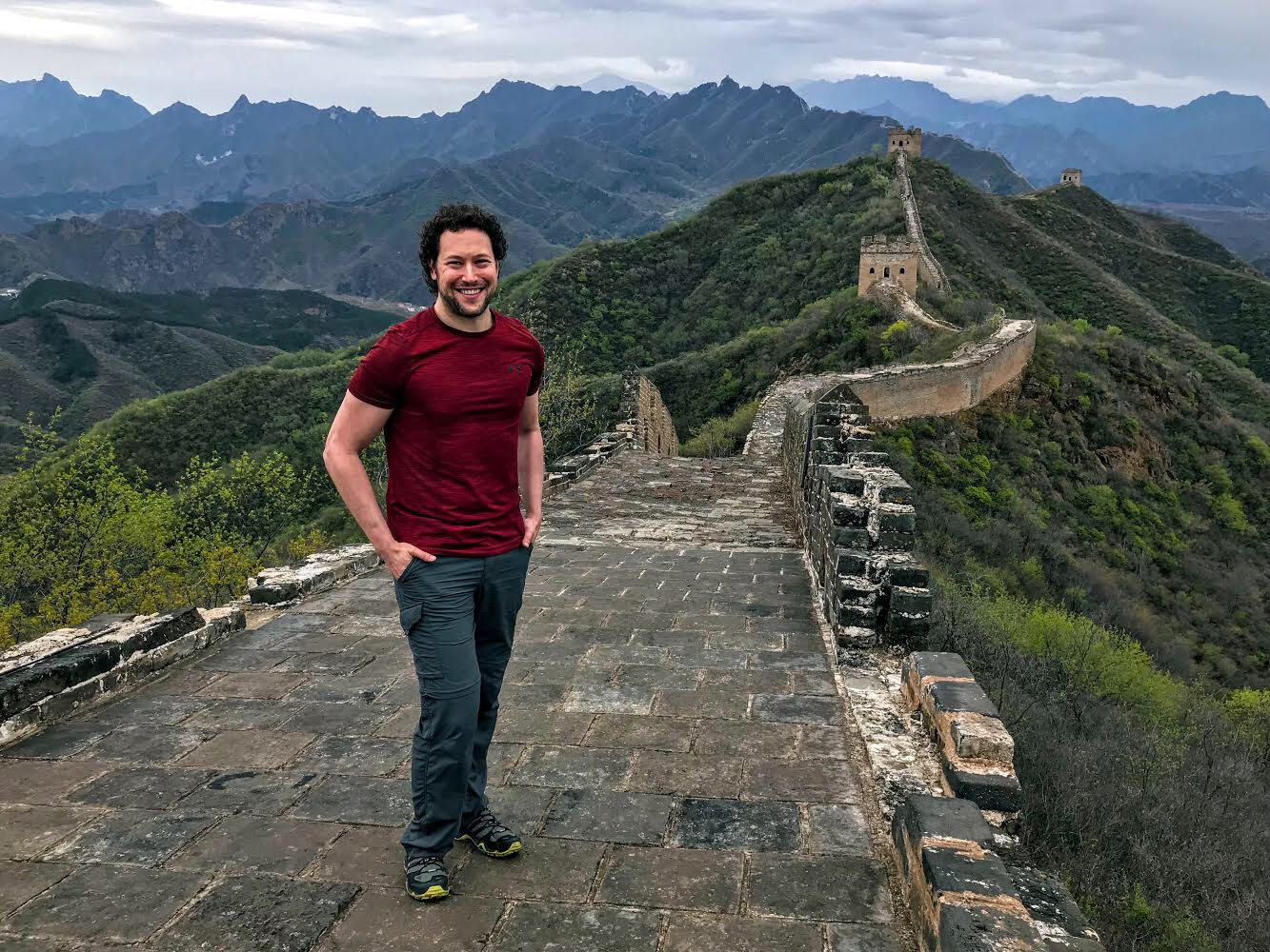 mark holland on the great wall