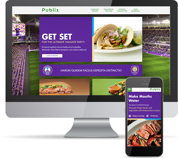 Publix project by Hot Sauce